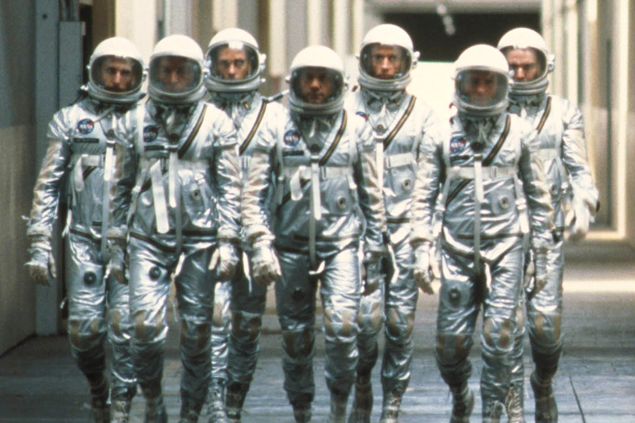 Espectador Errante (7): The Right Stuff. Cine y heroísmo en la carrera espacial de Estados Unidos